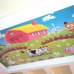 Натяжной потолок в детской - вид 2