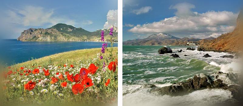Черноморское побережье России. Крым