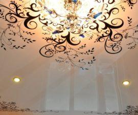 Как выбрать рисунок для натяжного потолка с фотопечатью